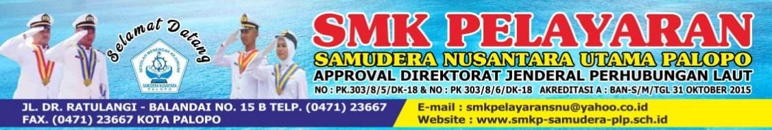 SMK PELAYARAN  SAMUDERA NUSANTARA UTAMA PALOPO